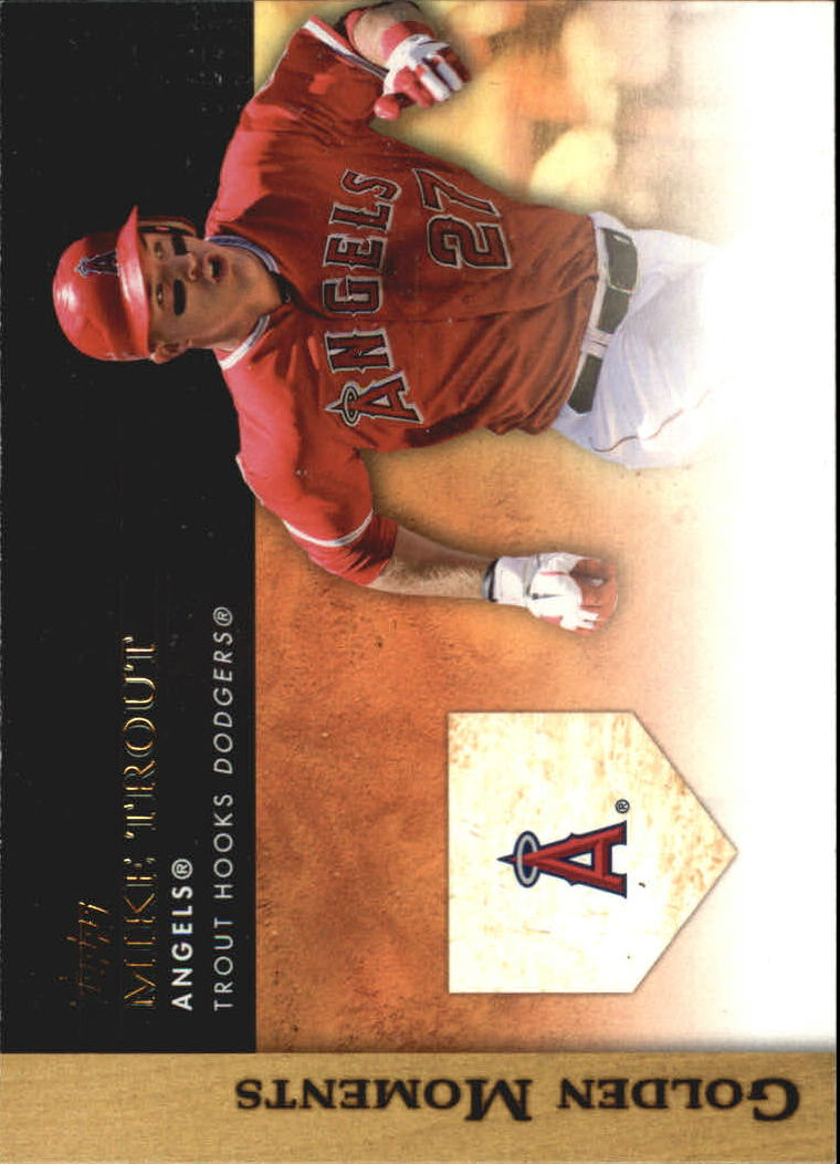2012 Topps Update Golden Moments #GMU2 Mike Trout