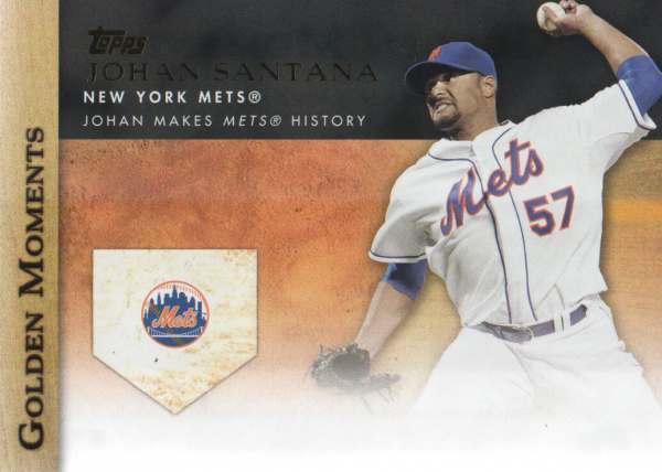 2012 Topps Update Golden Moments #GMU5 Johan Santana
