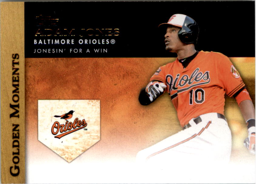 2012 Topps Update Golden Moments #GMU6 Adam Jones