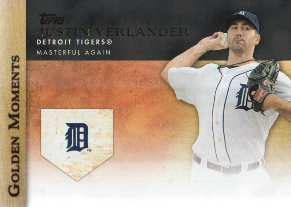 2012 Topps Update Golden Moments #GMU10 Justin Verlander
