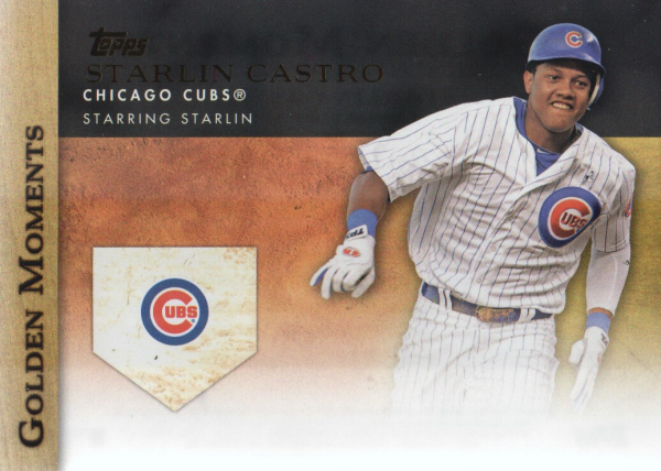 2012 Topps Update Golden Moments #GMU15 Starlin Castro