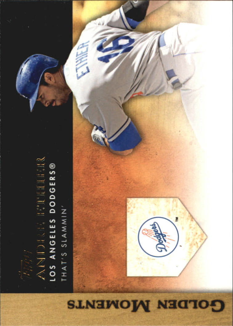 2012 Topps Update Golden Moments #GMU16 Andre Ethier