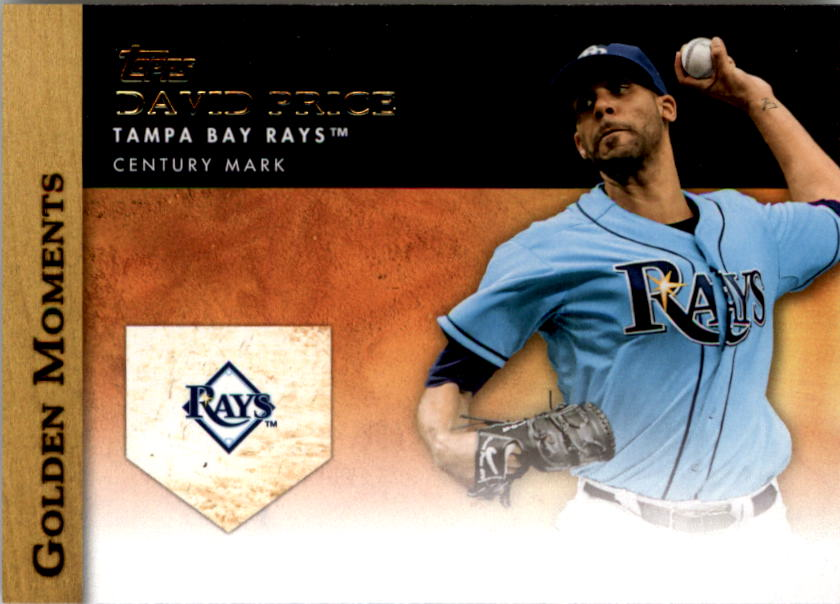 2012 Topps Update Golden Moments #GMU17 David Price
