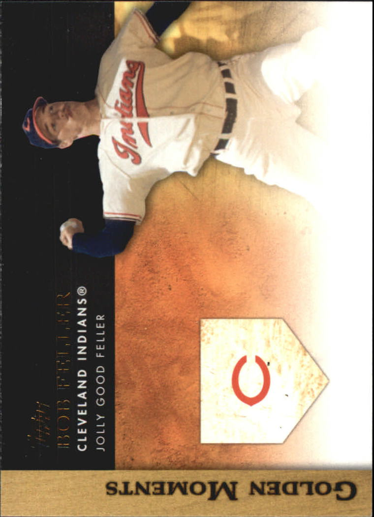 2012 Topps Update Golden Moments #GMU18 Bob Feller