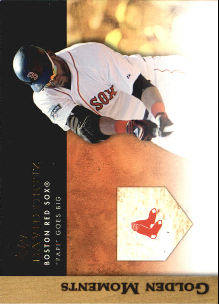 2012 Topps Update Golden Moments #GMU20 David Ortiz