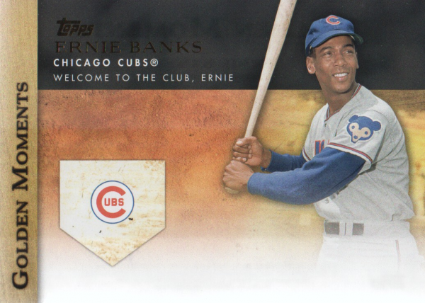 2012 Topps Update Golden Moments #GMU21 Ernie Banks