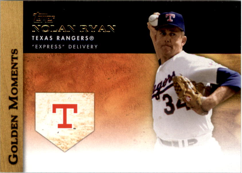 2012 Topps Update Golden Moments #GMU23 Nolan Ryan