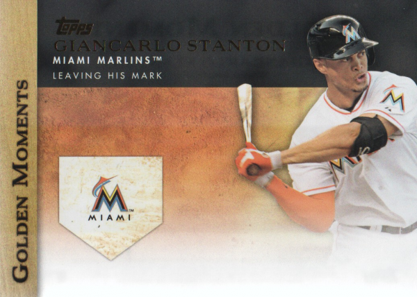 2012 Topps Update Golden Moments #GMU24 Giancarlo Stanton