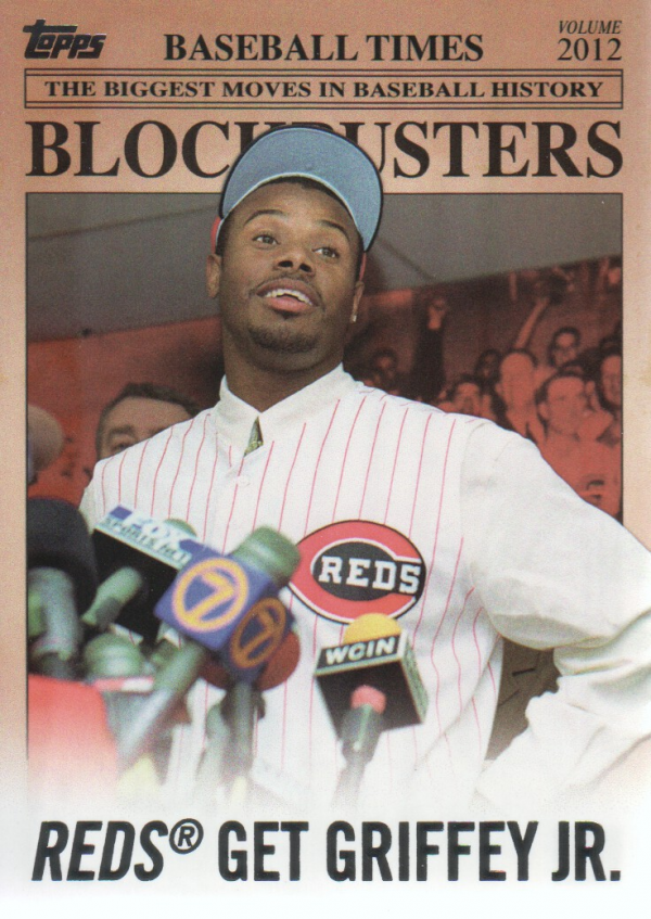 2012 Topps Update Blockbusters #BB7 Ken Griffey Jr.