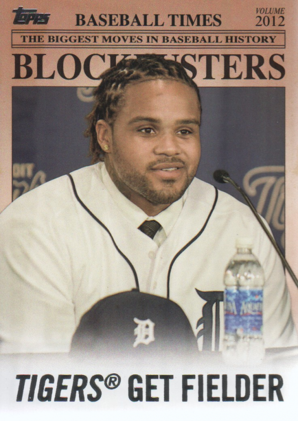 2012 Topps Update Blockbusters #BB10 Prince Fielder