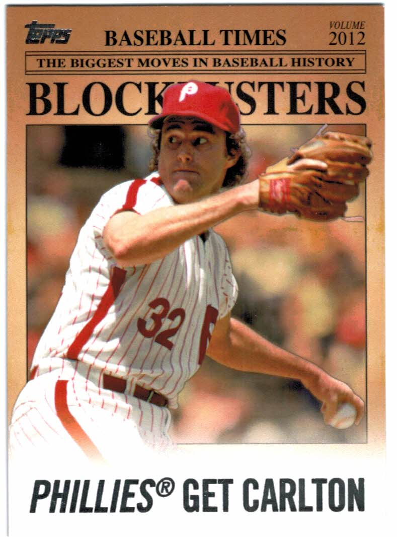 2012 Topps Update Blockbusters #BB24 Steve Carlton