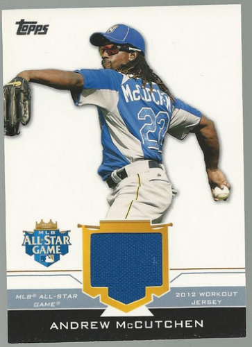 2012 Topps Update All-Star Stitches #AM Andrew McCutchen