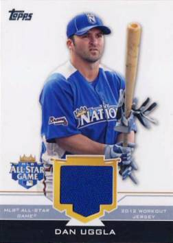 2012 Topps Update All-Star Stitches #DU Dan Uggla