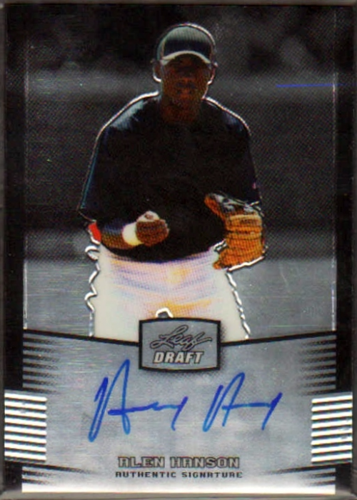 2012 Leaf Metal Draft #AH2 Alen Hanson