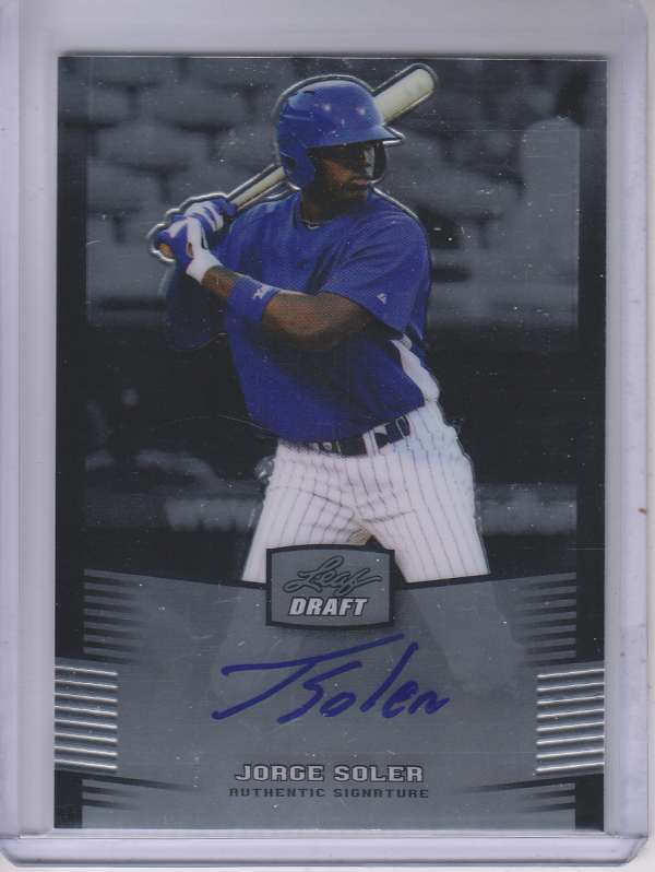 2012 Leaf Metal Draft #JS1 Jorge Soler