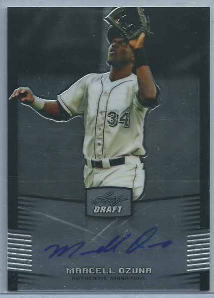 2012 Leaf Metal Draft #MO2 Marcell Ozuna