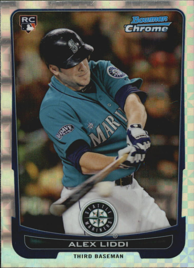 2012 Bowman Chrome Superfractors #6 Alex Liddi