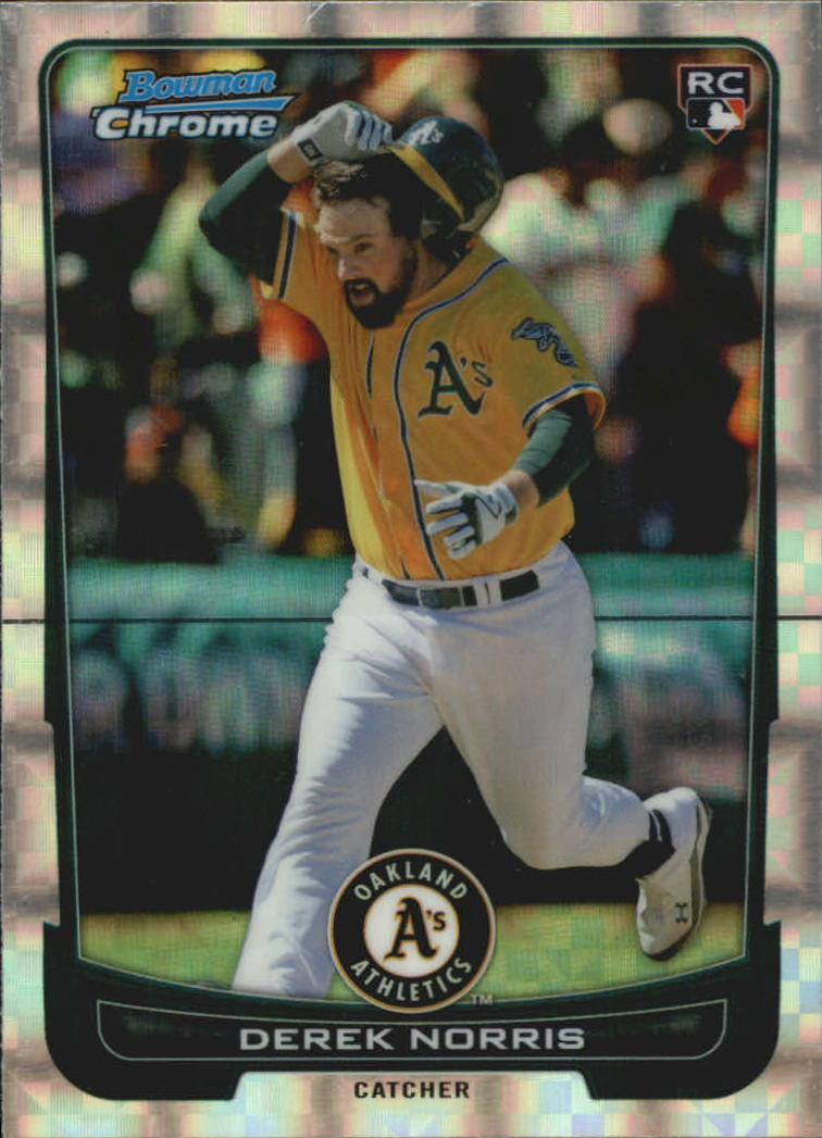 2012 Bowman Chrome Superfractors #11 Derek Norris