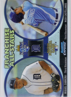 2012 Bowman Chrome Franchise All-Stars #CC Miguel Cabrera/Nick Castellanos
