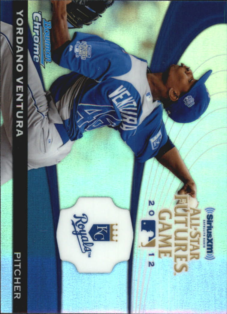 2012 Bowman Chrome Futures Game #YV Yordano Ventura