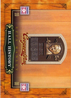 2012 Panini Cooperstown Hall History #7 Effa Manley