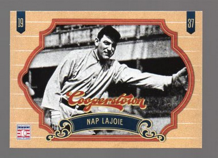 2012 Panini Cooperstown #5 Nap Lajoie