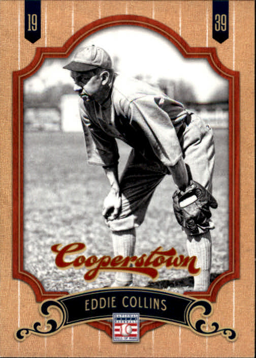 2012 Panini Cooperstown #17 Eddie Collins