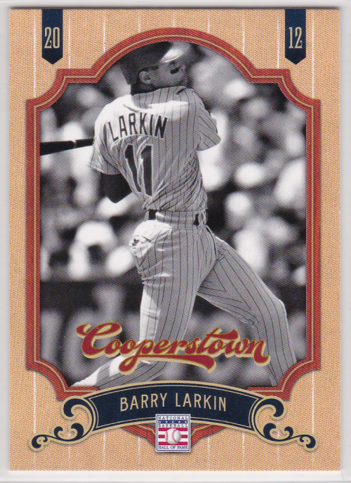 2012 Panini Cooperstown #23 Barry Larkin