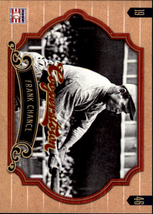 2012 Panini Cooperstown #35 Frank Chance