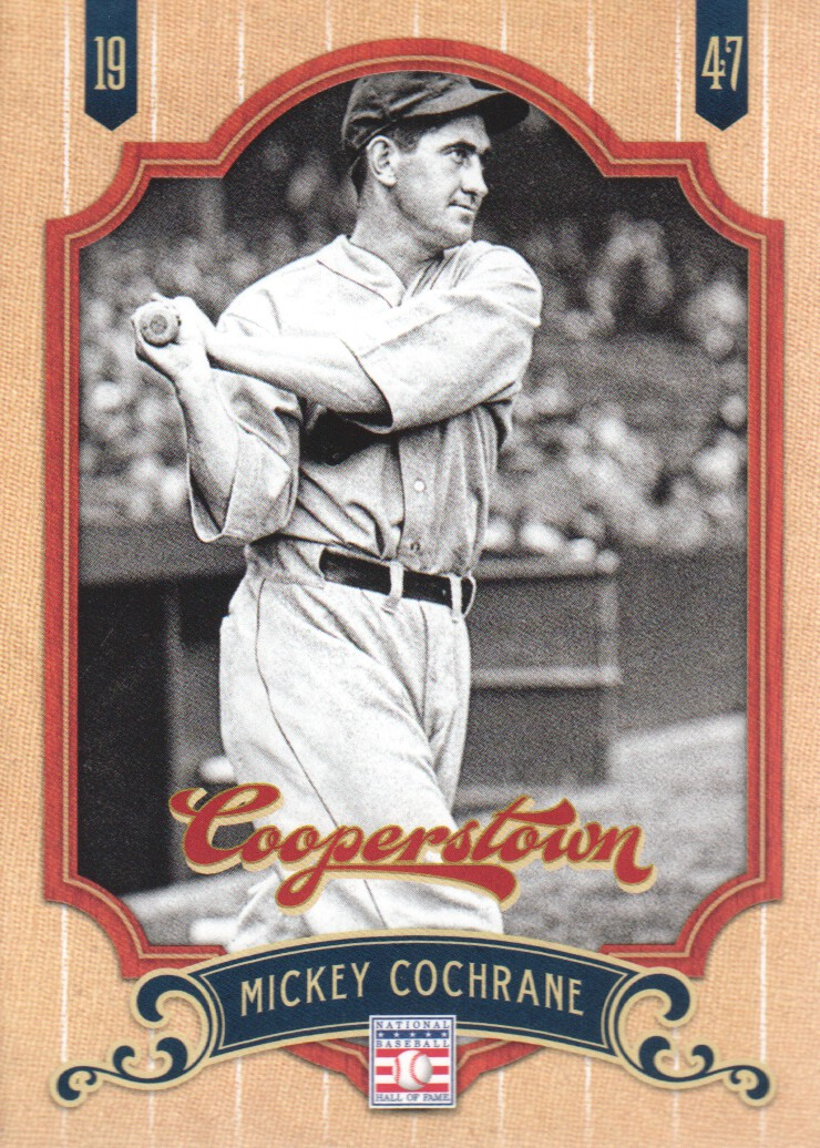 2012 Panini Cooperstown #41 Mickey Cochrane