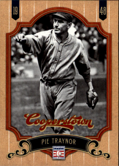 2012 Panini Cooperstown #48 Pie Traynor