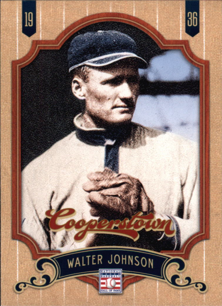 2012 Panini Cooperstown #160 Walter Johnson SP