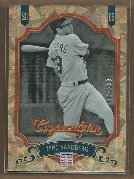 2012 Panini Cooperstown Crystal Collection #44 Ryne Sandberg