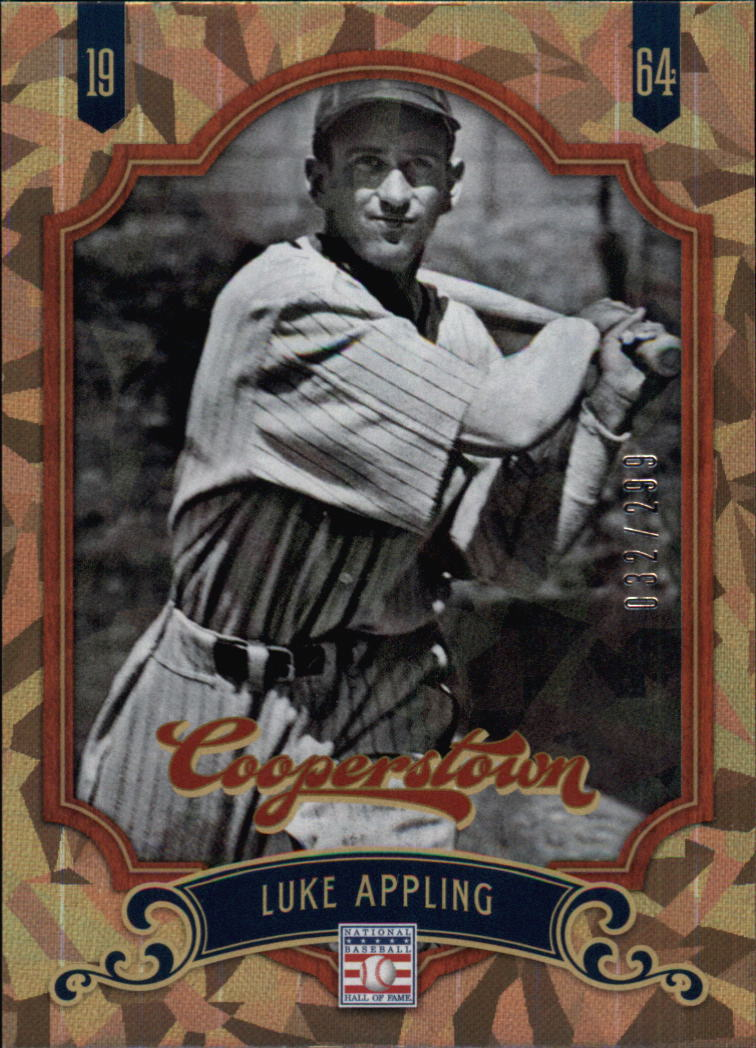 2012 Panini Cooperstown Crystal Collection #74 Luke Appling