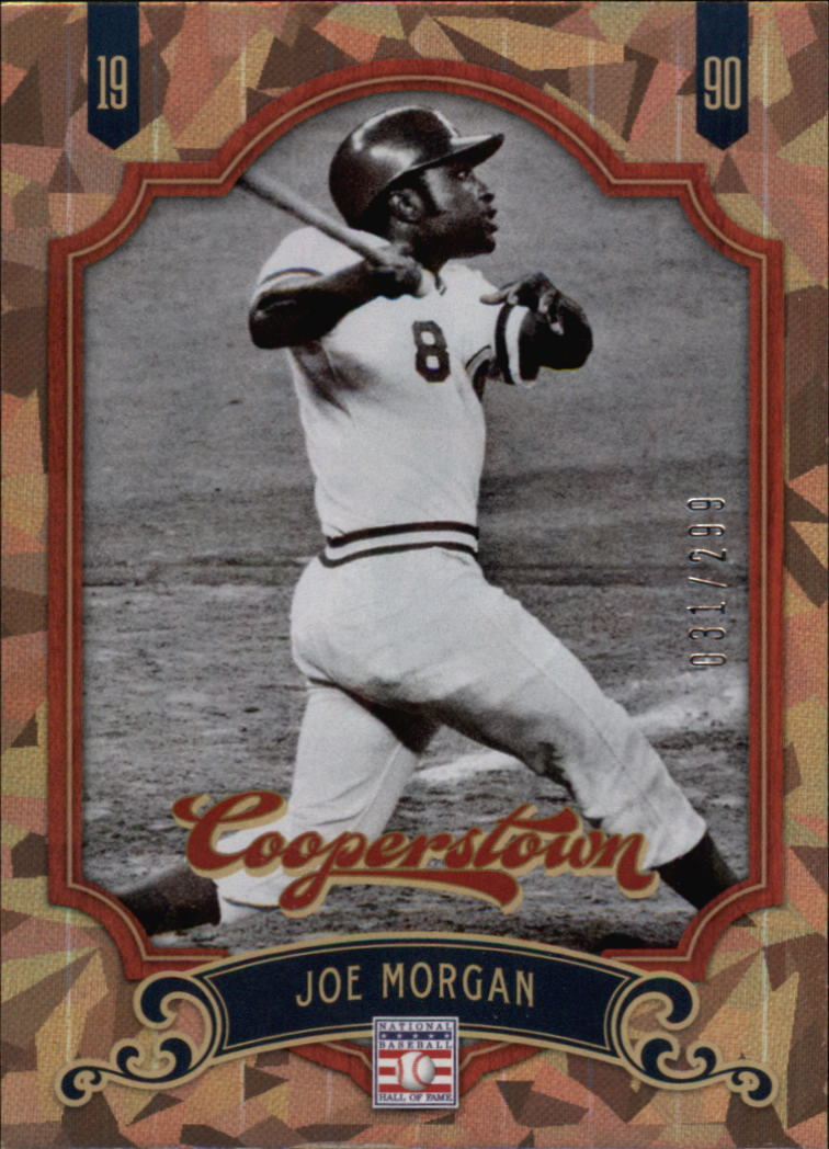 2012 Panini Cooperstown Crystal Collection #145 Joe Morgan