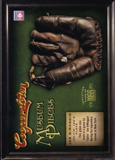 2012 Panini Cooperstown Museum Pieces #18 Joe DiMaggio