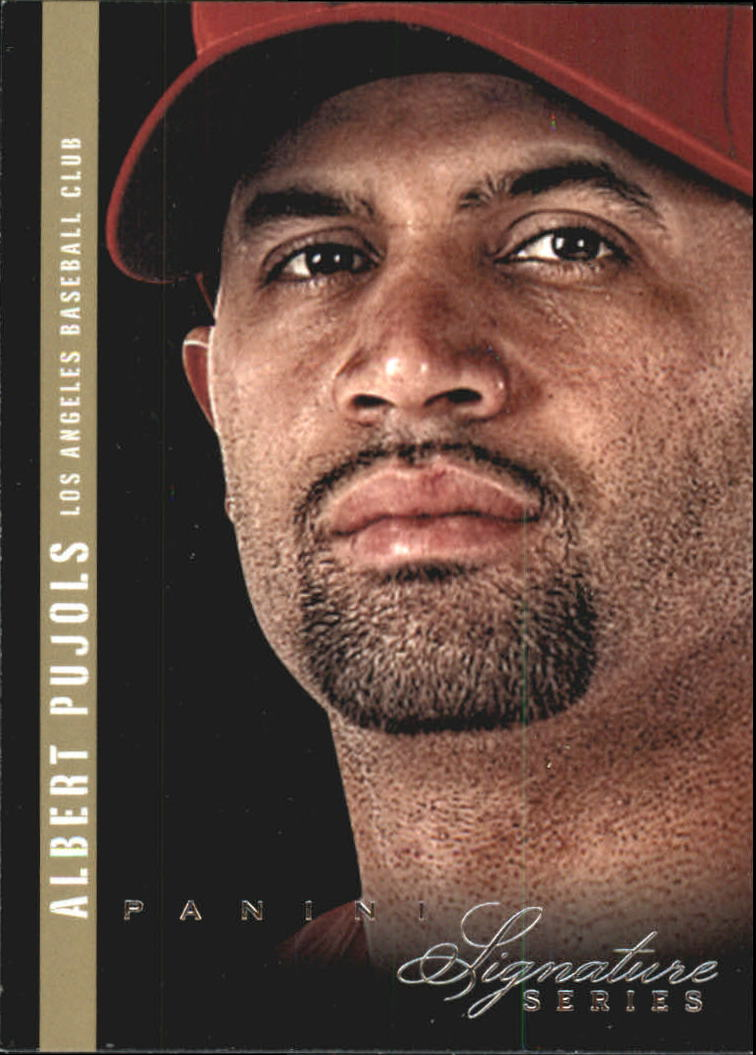 2012 Panini Signature Series #4 Albert Pujols
