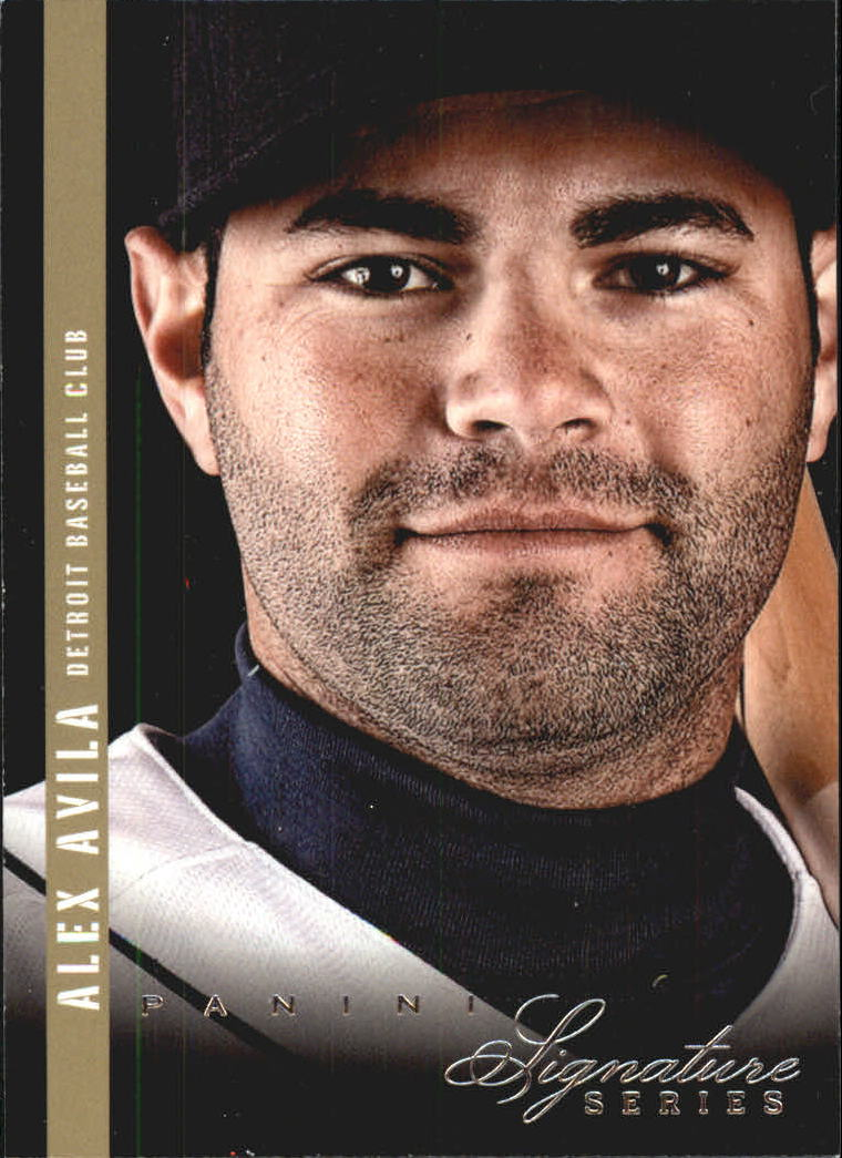 2012 Panini Signature Series #6 Alex Avila