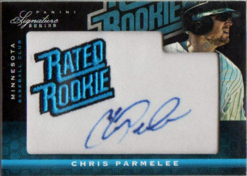 2012 Panini Signature Series #157 Chris Parmelee AU/99 RC