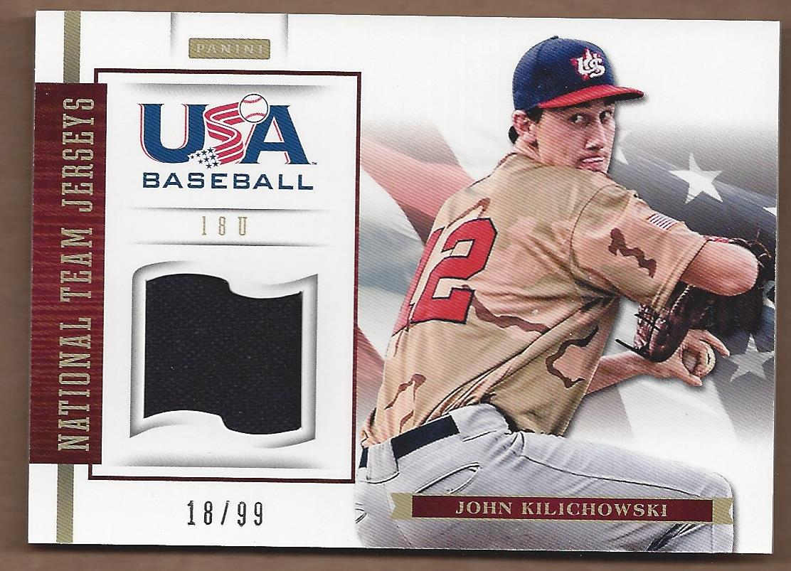 2012 USA Baseball 18U National Team Jerseys #10 John Kilichowski