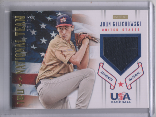 2012 USA Baseball 18U National Team Patches #10 John Kilichowski
