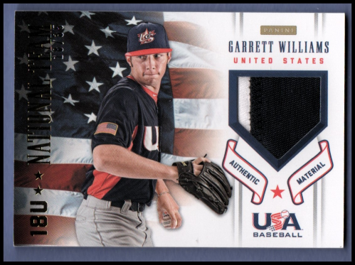 2012 USA Baseball 18U National Team Patches #19 Garrett Williams