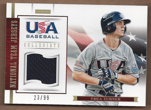 2012 USA Baseball Collegiate National Team Jerseys #21 Trea Turner