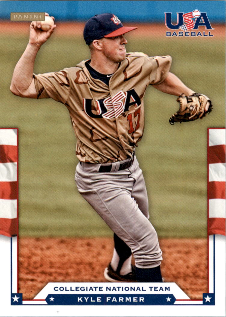 2012 USA Baseball #7 Kyle Farmer