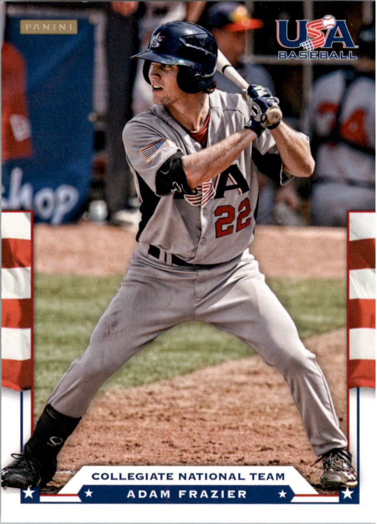 2012 USA Baseball #9 Adam Frazier