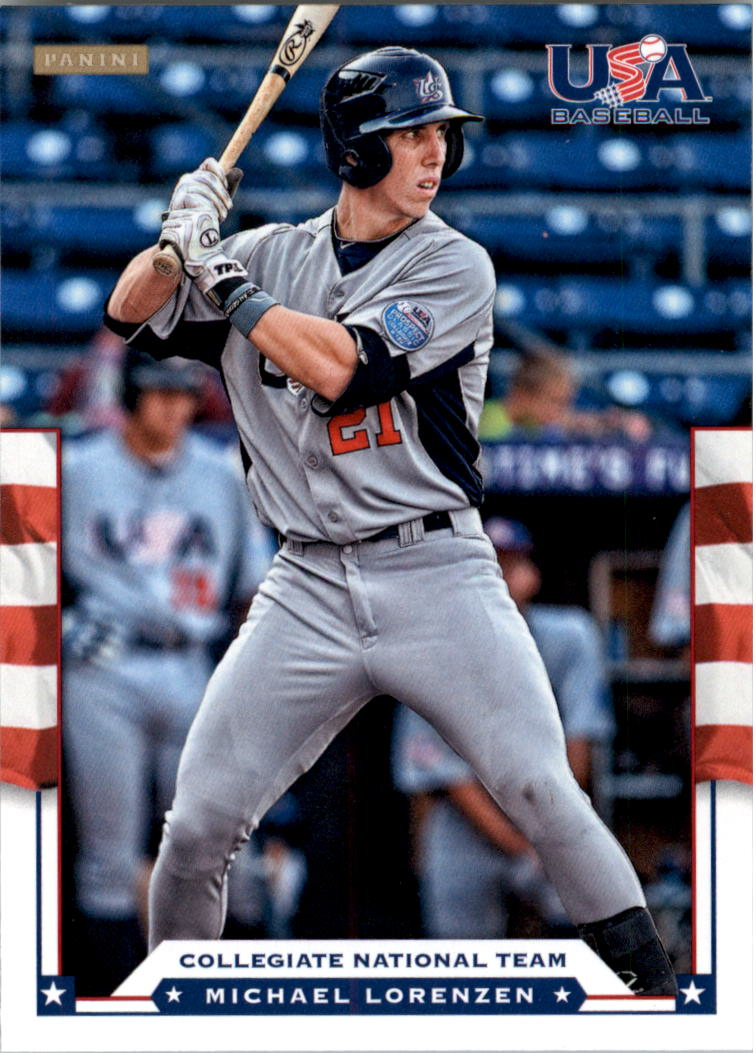 2012 USA Baseball #13 Michael Lorenzen