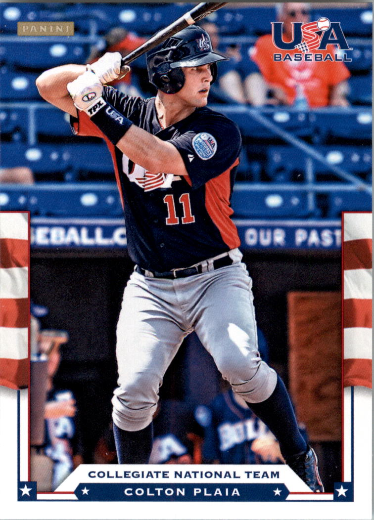 2012 USA Baseball #15 Colton Plaia