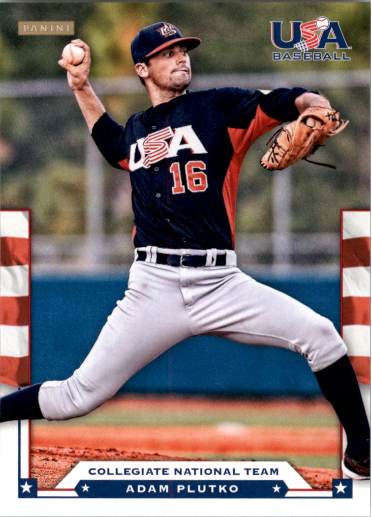 2012 USA Baseball #16 Adam Plutko