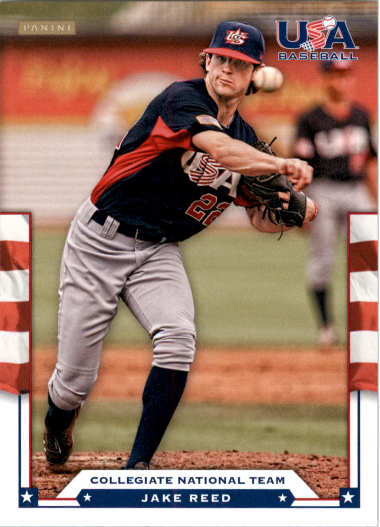 2012 USA Baseball #17 Jake Reed