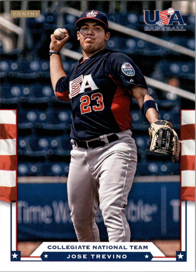 2012 USA Baseball #20 Jose Trevino